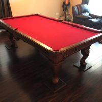8ft Olhausen Americana Series Pool Table